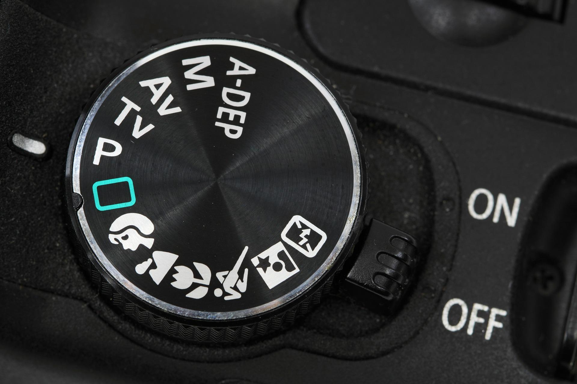 一眼のダイヤルについて解説 撮影モードとは?