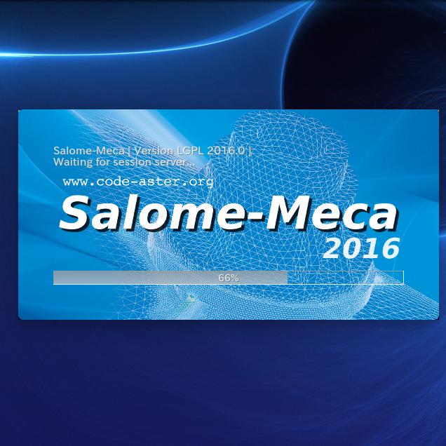 [備忘録]無料構造解析ソフトウェア salomeのダウンロード方法