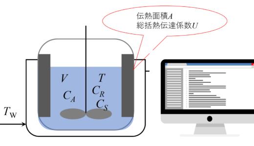 エクセルマクロVBAで解く回分式反応器の計算